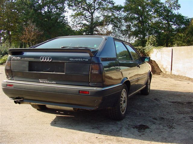 type 85 audi coupe quattro group a rally history. Black Bedroom Furniture Sets. Home Design Ideas